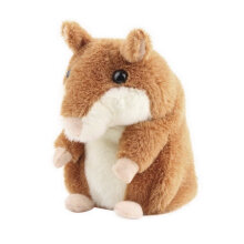 [COZIME] Lovely Talking Hamster Plush Toy Hot Cute Speak Talking Sound Record Toy Other