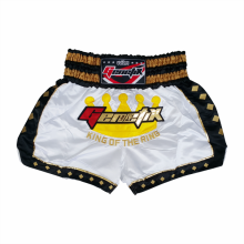 GENETIX MS0103 MUAY THAI SHORT Silver