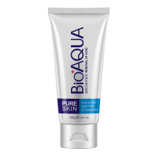BIOAQUA  deep cleansing facial cleanser oil control acne ladies cleanser  Net content (g/ml) 100g
