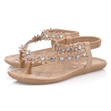 Jantens 2018 Women Sandals Summer Style Bling Bowtie Fashion Peep Toe Jelly Shoes Sandal Flat Shoes Woman 2 Colors