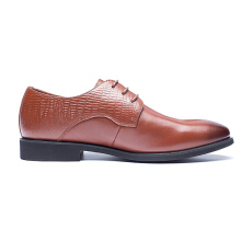 AOKANG 2018 New Arrival men dress shoes genuine leather men's wedding shoes brand men shoes brogue shoes high quality brown