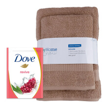 JD.ID Paket Special Bath Woven dan Body Wash Revive Refill - Brown