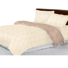 JOYSLEEP Bedcover Set Embossed Gold 180x200cm