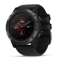 GARMIN FENIX 5X PLUS DLC CARBON GRAY W/ BLACK BAND