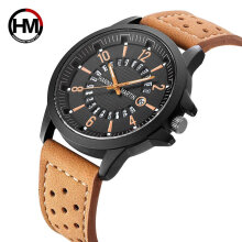 Quartz watches Men's Watch Hannah Martin HM-1601 Waterproof Male Sport Watch Fashion Quartz Wristwatch