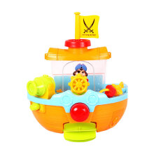 Cute Pirate Ship Bath Tub Toy Bathtub Bath Toy Bathtime Play Set For Kids Multicolor