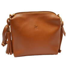 Tas wanita Tas slempang kulit pemice (HIGH QUALITY) - Brown Beauty Gum