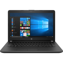 "HP 14-bs754TU 14"" HD/Intel Celeron N3060/4GB/1TB/Integrated Graphics/WIN 10 Home - Grey"