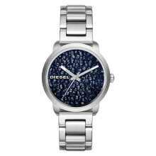 Diesel DZ5522 Flare Rocks Ladies Blue Metallic Geode Dial Stainless Steel [DZ5522]