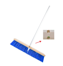 CLEAN MATIC Push Broom 45 - Blue