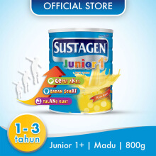 SUSTAGEN Junior 1+ Susu Madu Tin - 800gr