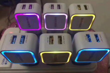 CHARGER NEON LED 1Ahm Blue