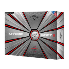 CALLAWAY Chrome Soft X - White Ball [1 dozen]