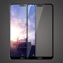 Blitzwolf Bakeey™ Anti-explosion Full Cover Tempered Glass Screen Protector for Nokia X6   -  -