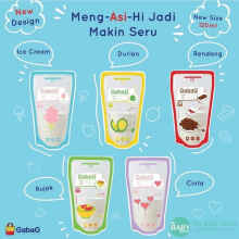 Gabag Breastmilk Storage 120Ml Kantong Asip Plastik Asi Breastmilk Bag
