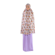 TATUIS Mukena Tiara 214 - Purple [One Size]