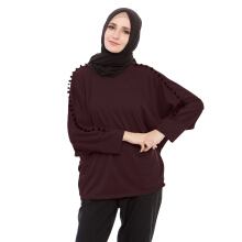 Mybamus Oversize Caroly Top Coffee M14237A R3S3 All Size