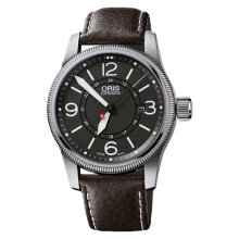 Oris HUNTER TEAM PS EDITION 733 7629 4063 SET LS 3031520 Dark Brown Leather Strap [733 7629 4063 SET LS 3031520]