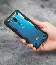 Rearth LG G7 ThinQ Case Ringke Fusion X - Black Black