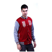 G-SHOP - MEN SWEATER JAKET HOODIES DISTRO PRIA - FRN 1485 - MARUN SIZE- M