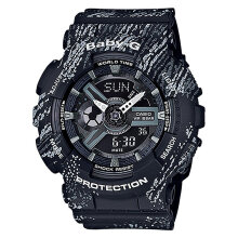Casio Baby-G BA-110TX-1ADR Water Resistant 100M Resin Band [BA-110TX-1ADR]