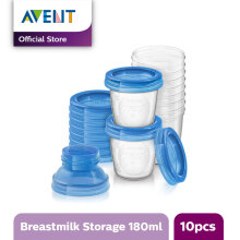 AVENT SCF618/10 Breast Milk Storage Cups 180 ml