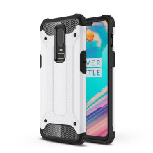 RockWolf Oneplus6 case Luxury Silicone Diamond Armor PC Hard Case