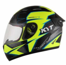 KYT RC7 #16 Yellow Fluo Gunmetal Black