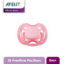 AVENT SCF178/13 Soother 0-6m Single Free Flow - Pink