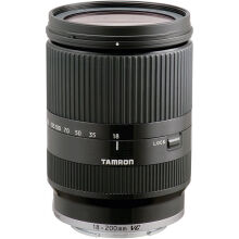 Tamron 18-200mm F/3.5-6.3 Di III VC Lens for Sony E Mount - Black