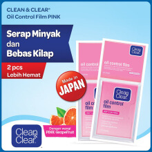 CLEAN & CLEAR Oil Control Film 50's - Bundling 2pcs