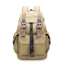 [COZIME] Large Capacity Canvas Backpack Luggage Shoulder Bag For Outdoor Travel Camping Others1