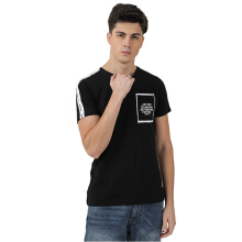 3SECOND Men Tshirt 1111 [111111812] - Black