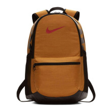 NIKE Brasilia (Medium) Training Backpack - Wheat/Black/Mystic Red [MISC] BA5329 - 790