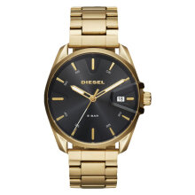 Diesel Rasp DZ1865 Rasp Men Black Dial Gold Stainless Steel [DZ1865]