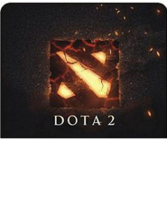 Mousepad Gaming / Mouse Pad Gaming Alas Mouse Motif Dota 2 Black Not Specified