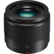 [free ongkir]Panasonic Lumix G 25mm f/1.7 ASPH Black