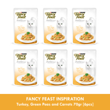 FANCY FEAST INSPIRATION Turkey, Green Peas and Carrots 70gr [6pcs]