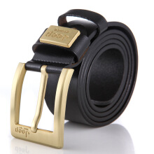 Fireflies A0986 Original imported fashion men's belt two-story leather business automatic buckle belt