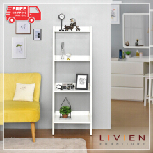 Rak Buku Susun 4 Tingkat French Series - LIVIEN FURNITURE