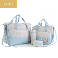 BLINGO VR02 5 pieces / more baby diaper bag Mummy stroller storage bag Mummy travel backpack baby care bag