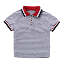 Boys' Solid Short Sleeve Polo Shirt