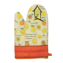 ARNOLD CARDEN Oven Mitts Fruits Lemon Right Side - Orange 17x25cm