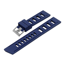 Strap Isofrane ISO-RS-22mm-Blue Silver Buckle