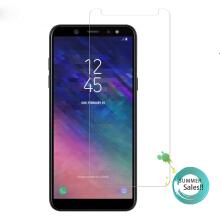 Keymao Samsung Galaxy A6+ Tempered Glass Screen Protector 2.5D 9H Hard