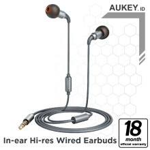 Aukey Headset Earbuds IN-EAR HI-RES Wired - 500286