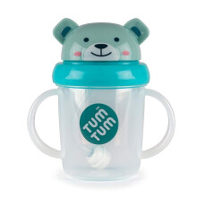 [free ongkir]Tum Tum Tippy Up Cup - Blue