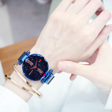 Helius Bintang watches sederhana fashion tren suasana santai Waterproof watches Blue
