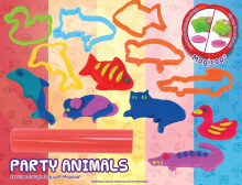 EMCO Super Dough Creativity Set Party Animals 6127