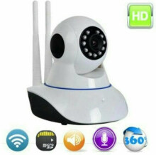 V380s Kamera CCTV Rotating IP Camera Baby Cam Spy Cam 2 Antenna